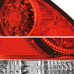 Fit 2001-2005 Lexus IS300 Altezza RED/CLEAR Style Bright LED Tail Light Assembly