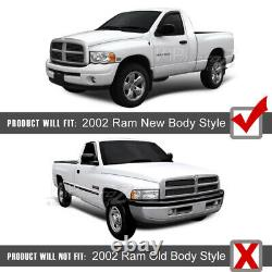 For 02-05 Dodge Ram 1500 Chrome Halo LED Projector Headlight 03-05 Ram 2500 3500
