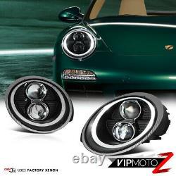 For 05-12 Porsche 997 Carrera Targa Turbo GT2 GT3 911 Projector DRL Headlights