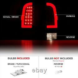 For 05-15 Toyota Tacoma PLASMA OPTIC Neon Tube LED Tail Light PAIR PLUG&PLAY
