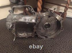 Harley Davidson 1000cc Ironhead Engine Left Crank Case Gearbox Clutch Side 1974