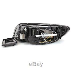 Headlight Set Volvo S40 V50 M BJ. 07- Reflector Grey Philips H7+H9+Engines