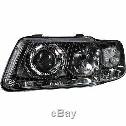 Headlight Set for Audi A3 8L Year 08.00 05.03 H7 +H1 Incl. Engines