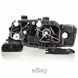 Headlight Set for Audi A4 8E B6 Year 00-04 Incl. Philips H7 +H7 Incl. Engines