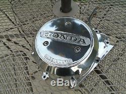 Honda CB750 CB 750 SOHC 1969-78 Polished Engine Left Side Stator Cover Chopper