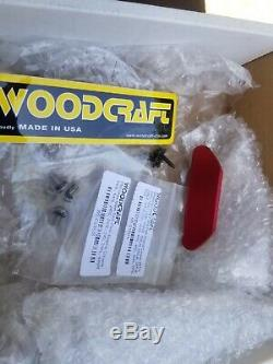 Honda Cbr 1000rr 2004-2007 Woodcraft Left Side Engine Cover With Red Skid Pad