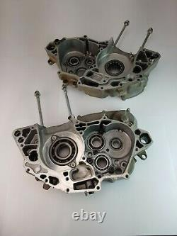 Honda Crf 250 Crf250 2005 Engine Case Crankcase Set Left Right Side 11100krn506