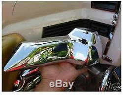 Honda Goldwing 1500 Engine Side Carb Covers Show Chrome A5-4