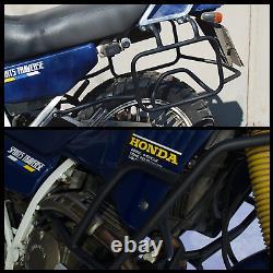 Honda NX250 Dominator Crash bars Engine guard + Side carriers Pannier rack AX-1