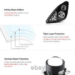 JDM Black Halo Angel Eye Projector Headlight Lamp For 00-05 Toyota Celica GT/GTS