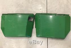John Deere 332 330 Right & Left Engine Shield Side Panels