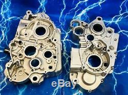 KTM Case Set Side Engine Left Right Motor Bottom Block Genuine OEM Stock Vin RFS
