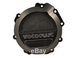 Kawasaki 2011-2019 Zx10r Woodcraft Left Side Engine Stator Cover With Skid Pad