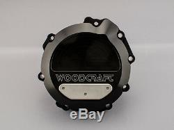 Kawasaki Zx10r 2011-2018 Woodcraft Left Side Engine Stator Cover With Skid Pad