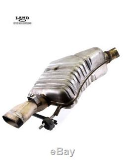 Mercedes W221 W216 Driver/passenger Rear Exhaust Muffler Tail Pipe Set V12 600