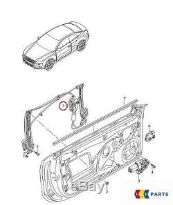 New Genuine Audi A5 08-16 Front Left N/s Side Window Regulator 8t0837461c