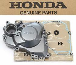 New Genuine Honda Left Engine Stator Magneto Side Cover Kit 09 CRF450 R OEM #N20