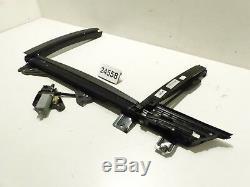 Original BMW F01 F04 Sonnenschutzrollo elektrisch hinten links 9168843 9189707