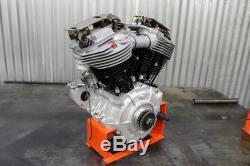 Panhead Left Side Engine Case, for Harley Davidson, by V-Twin