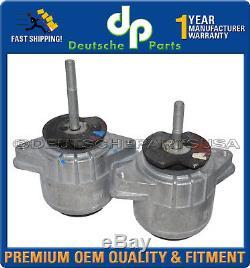 Porsche Panamera Engine Motor Mount LH + RH Side 94637505722 94637505822 Set 2