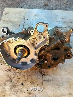 Quadzilla 450 Dinli 901 Crank conrod left side engine casing breaking quad