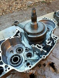 Quadzilla 450 r Dinli 901 Crank conrod left side engine casing breaking quad