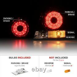 REAR END BUNDLE For 01-05 Lexus IS300 Sedan LED Trunk Outer Tail Lights Lamps