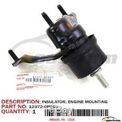 Toyota Lexus Factory Oem 12372-0p010 Engine Torque Strut Side Mount Insulator