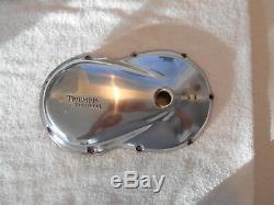 Triumph Cub left side engine casing
