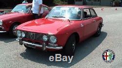 Wasser Kühler Motorkühler Radiator Alfa Romeo 105 Giulia Gt Bretone 1968-78 Neu