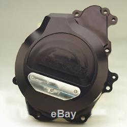 Yamaha 2006-2009 R6s Woodcraft Left Side Stator Engine Cover With Skid Pad