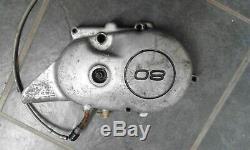 Yamaha Ty80 1970 S Vintage Trials Bike Engine Side Cover Sprocket Chain Left