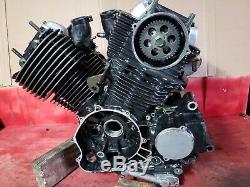 Yamaha V Star 650 Classic 2000 engine motor crankcase & side covers