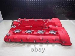02-04 Maserati M138 Coupé 4.2l V8 Gauche Et Côté Droit Valve Cover Oem