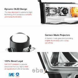 02-05 Pickup Dodge Ram 1500 2500 3500 Led Bar Neon Drl Projecteur De Tube Phare