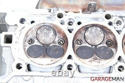 03-08 Mercedes W211 E55 Amg Gauche Moteur Moteur Cylindre Tête Avec Pipe Oem