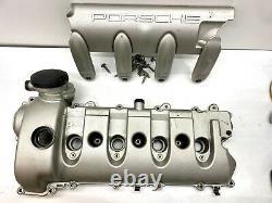 03-2006 Porsche Cayenne Turbo S 4.5l V8 Moteur Côté Cylindre De Soupape De Cylindre