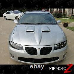 04 05 06 Pontiac Gto Noir Led Halo Angel Projecteur De Phare De Phare Ls1 Ls2