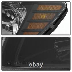 09-18 Dodge Journey Factory Style Noir Lampe Phare De Remplacement Left+right