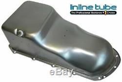 1964-79 Pontiac Tous Les Modèles D'usine D'huile Moteur V8 Style Pan Avec Baffle Plug Side