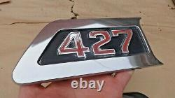 1967 1972 Chevy Truck 427 Hood Side Emblems Paire Gm Originale C50 C60