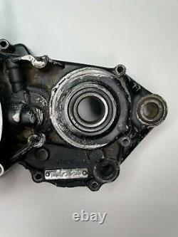 1989 1990 1991 Honda Cr250r Cr 250r Oem Côté Gauche Crank Case Motor Engine