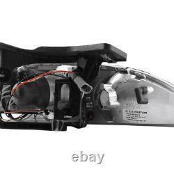 1995-1999 Chevy Cavalier Z24/ls/rs 2/4dr Projecteur Halo Phare Led Noir L+r