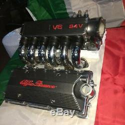 1997-1900 Alfa Romeo 3.0 Cf2 Moteur Détail Plénum Inlet Runner Pipes Coil Couverture