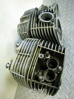 2000 00 Bmw R1100rt R1100 Rt 1100 Police Left & Right Side Engine Cylinder Heads
