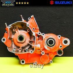 2002 Suzuki Rm125 Côté Gauche Manivelle Case Bas Fin Moteur 2001-2006 Carter