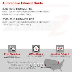 2006-2010 Hummer H3 Paire Gauche Droite Phares Projecteurs Coin Signal Assemblage