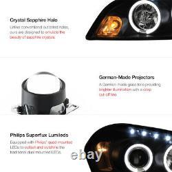 2006-2013 Chevy Impala Sinister Black Angel Eye Projecteur Led Phares Lampes