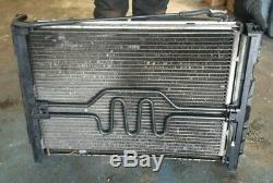 2006 Bmw 116i E87 1.6 Petrol Rad Radiateur Pack Condenseur Refroidisseur D'huile (sans Ventilateur)