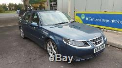 2006 Saab 9-5 1.9 Diesel 300 Fusion Bleu Avant Gauche Passager Nu Porte Shell